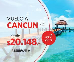 Vuelo Cancun