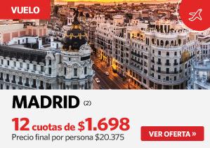 Vuelo Madrid