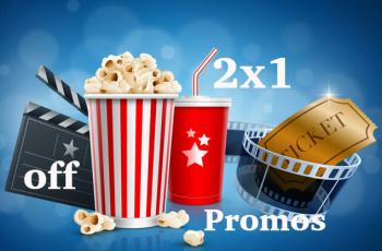 ? 2×1 y Descuentos en los cines más importantes?