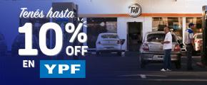 Hasta 10% en YPF