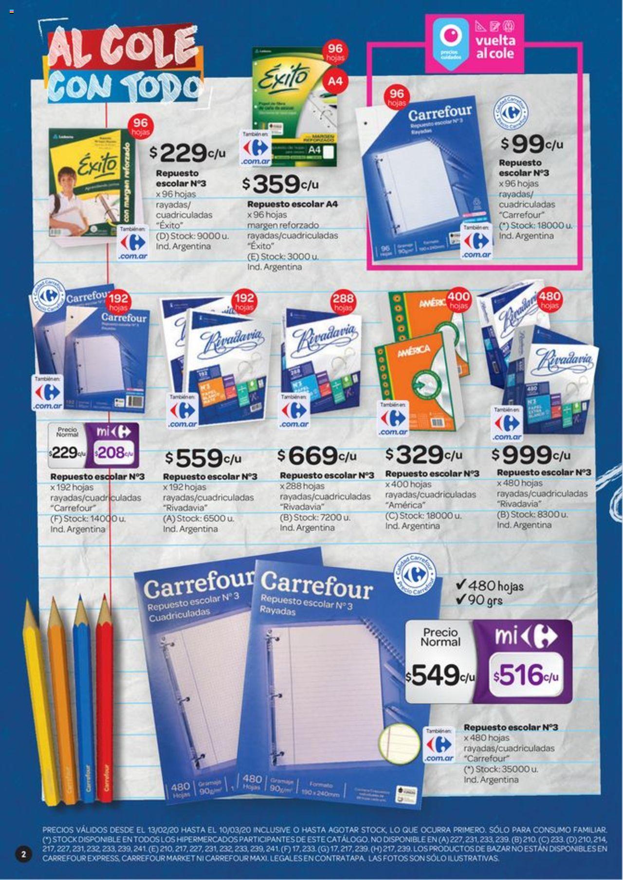 Carrefour Oferta válido desde el 13/02/2020 número de página 1 | Página: 2