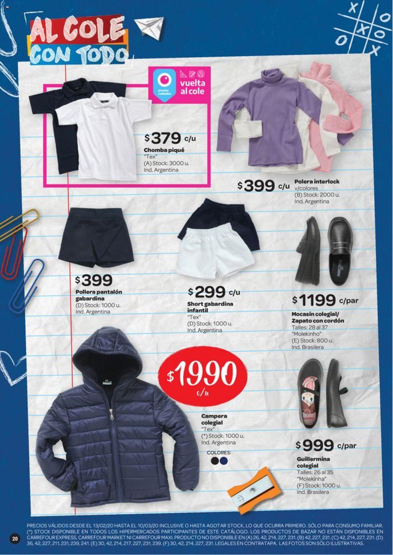 Carrefour Oferta válido desde el 13/02/2020 número de página 1 | Página: 20