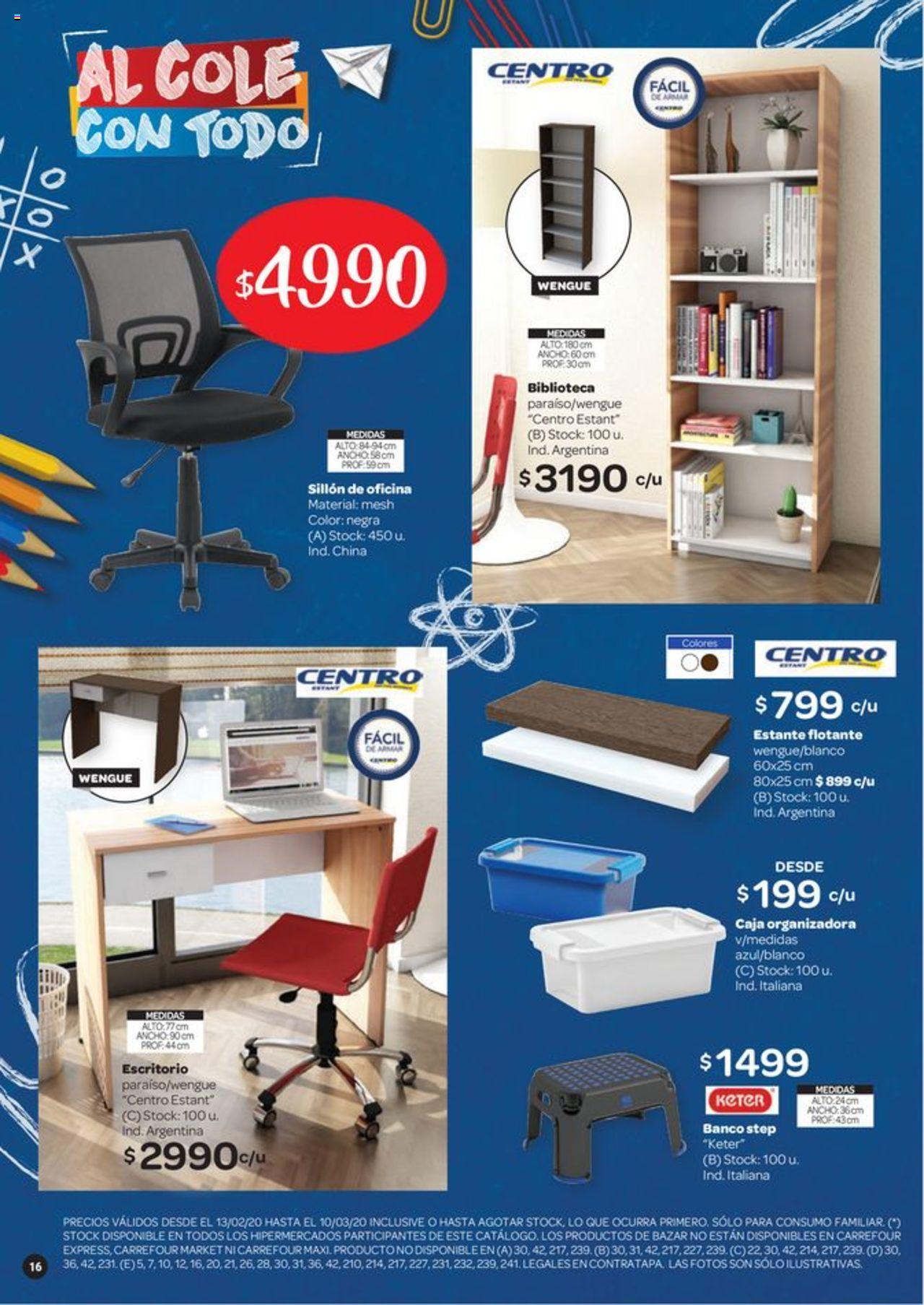Carrefour Oferta válido desde el 13/02/2020 número de página 1 | Página: 16