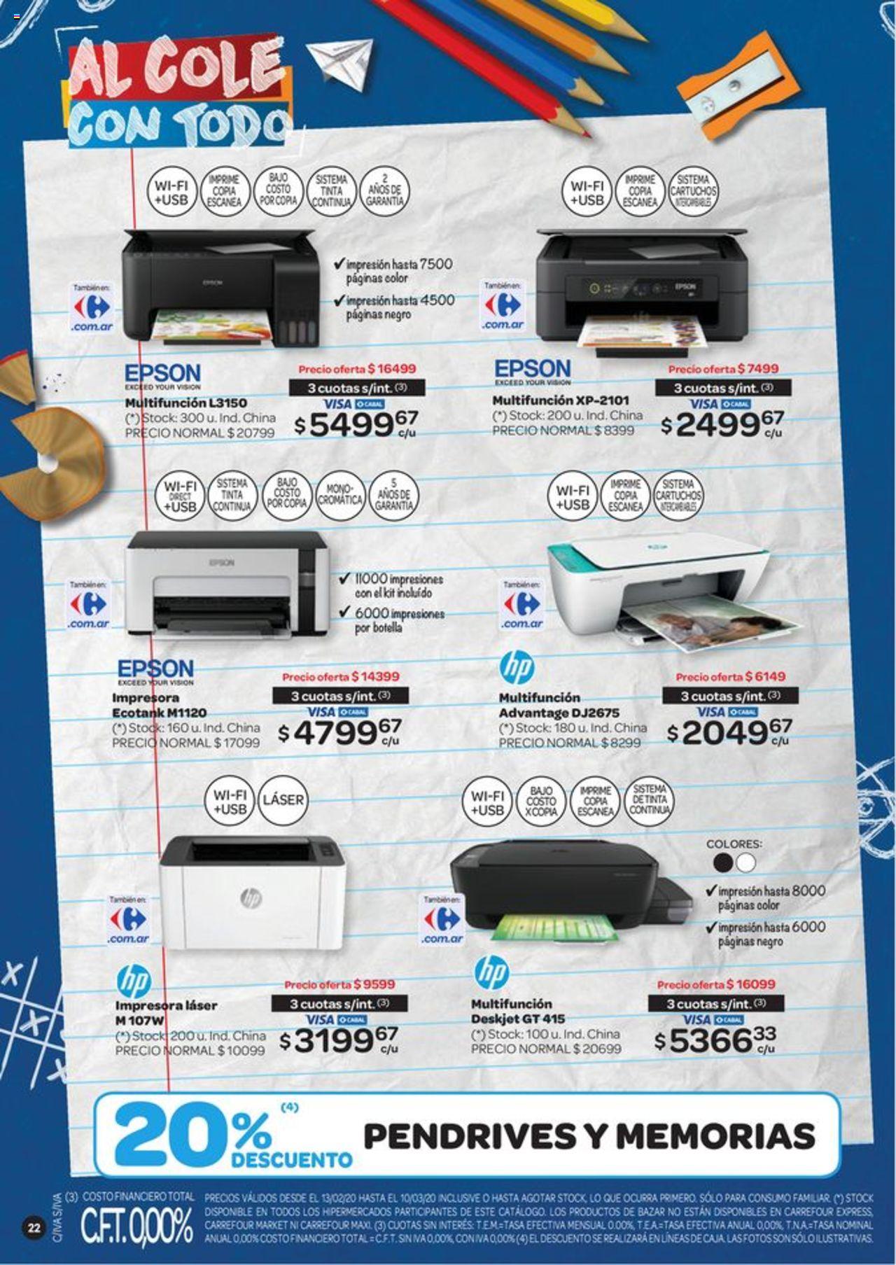 Carrefour Oferta válido desde el 13/02/2020 número de página 1 | Página: 22
