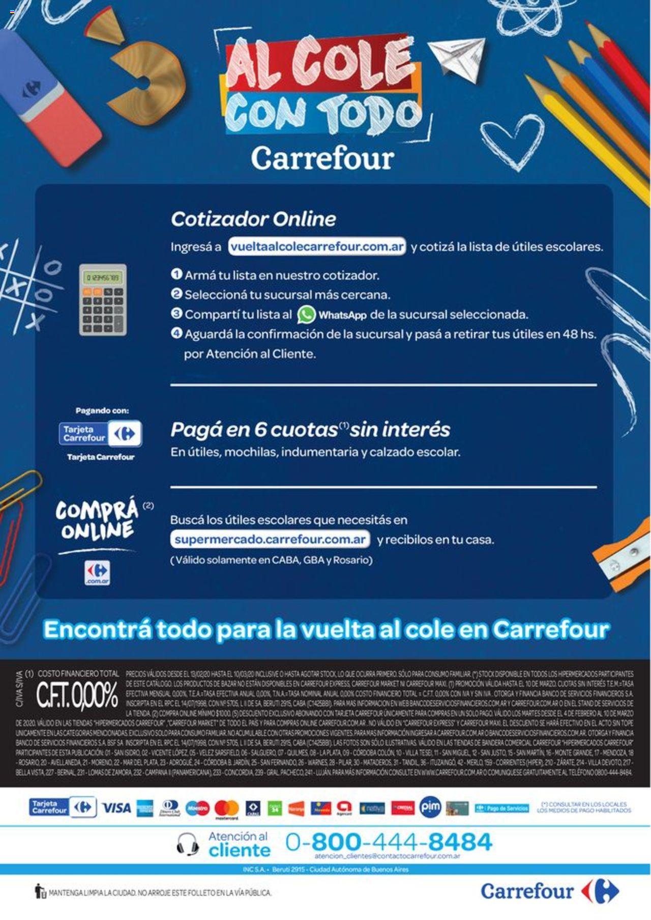 Carrefour Oferta válido desde el 13/02/2020 número de página 1 | Página: 24