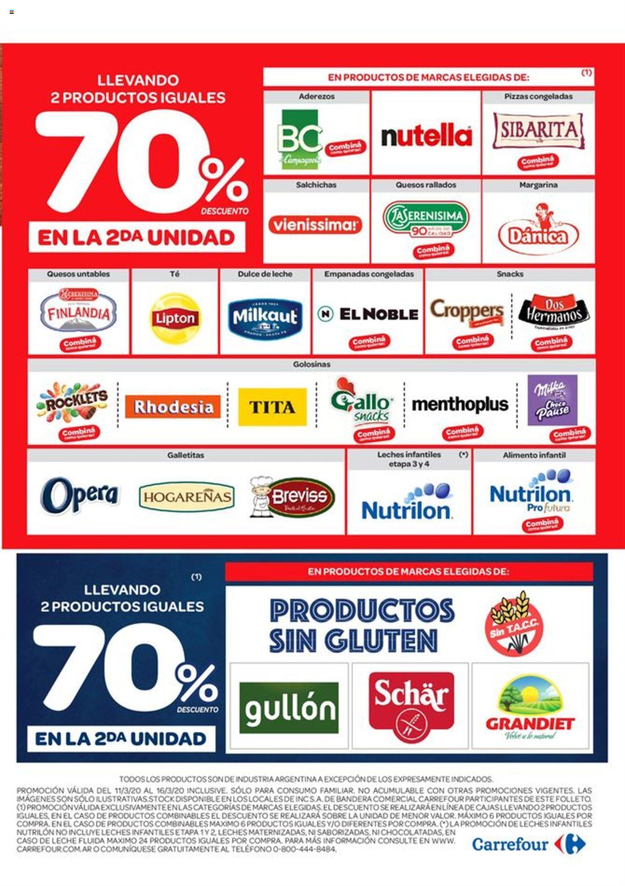 Carrefour - Catálogo válido desde el 11/03/2020 número de página 1 | Página: 3