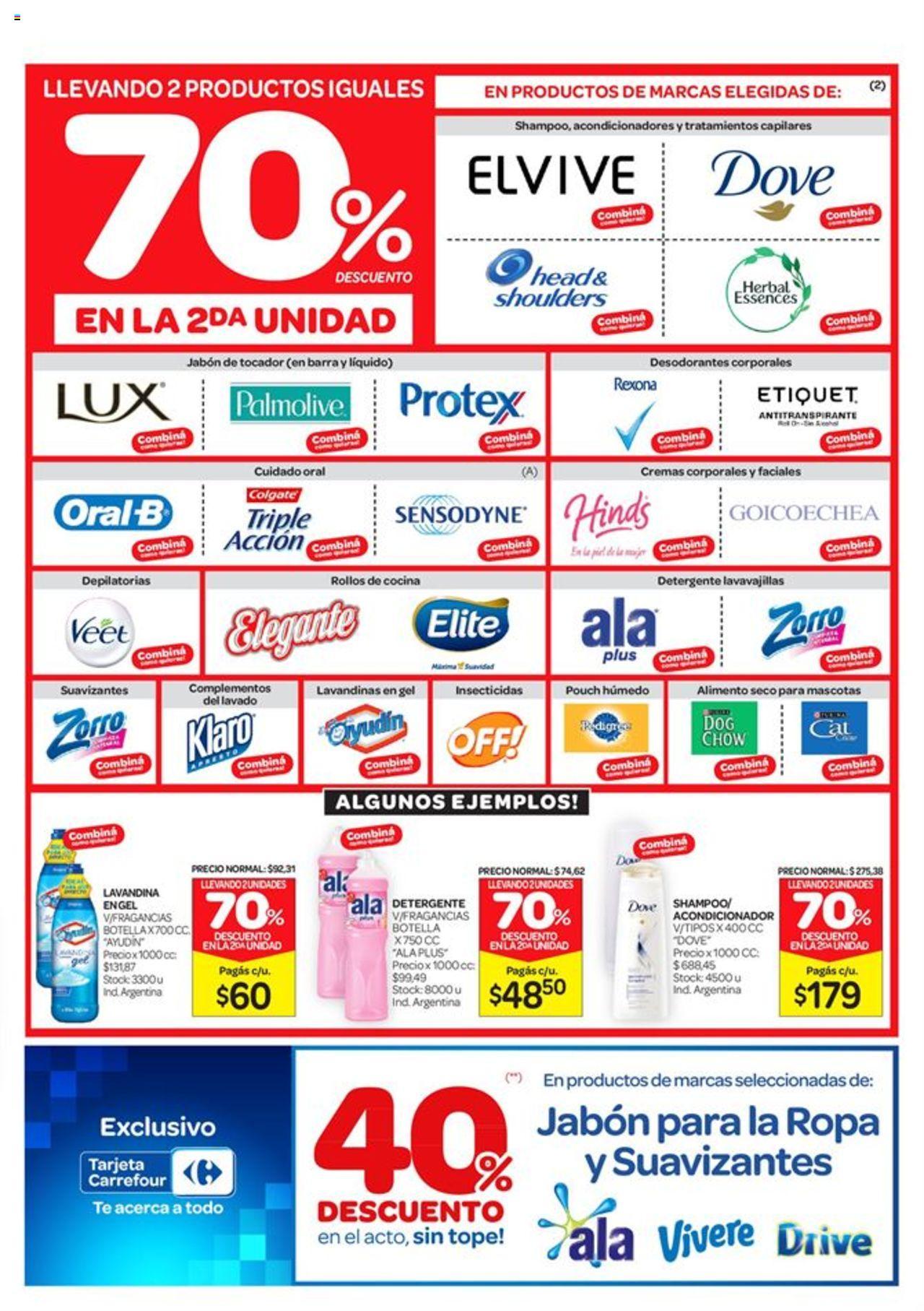 Carrefour - Catálogo válido desde el 11/03/2020 número de página 1 | Página: 7