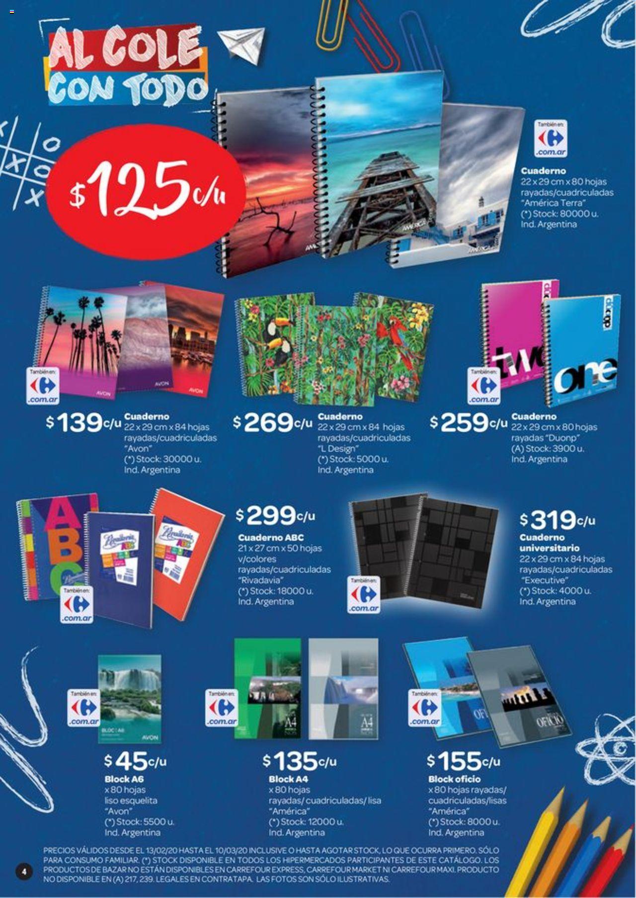 Carrefour Oferta válido desde el 13/02/2020 número de página 1 | Página: 4