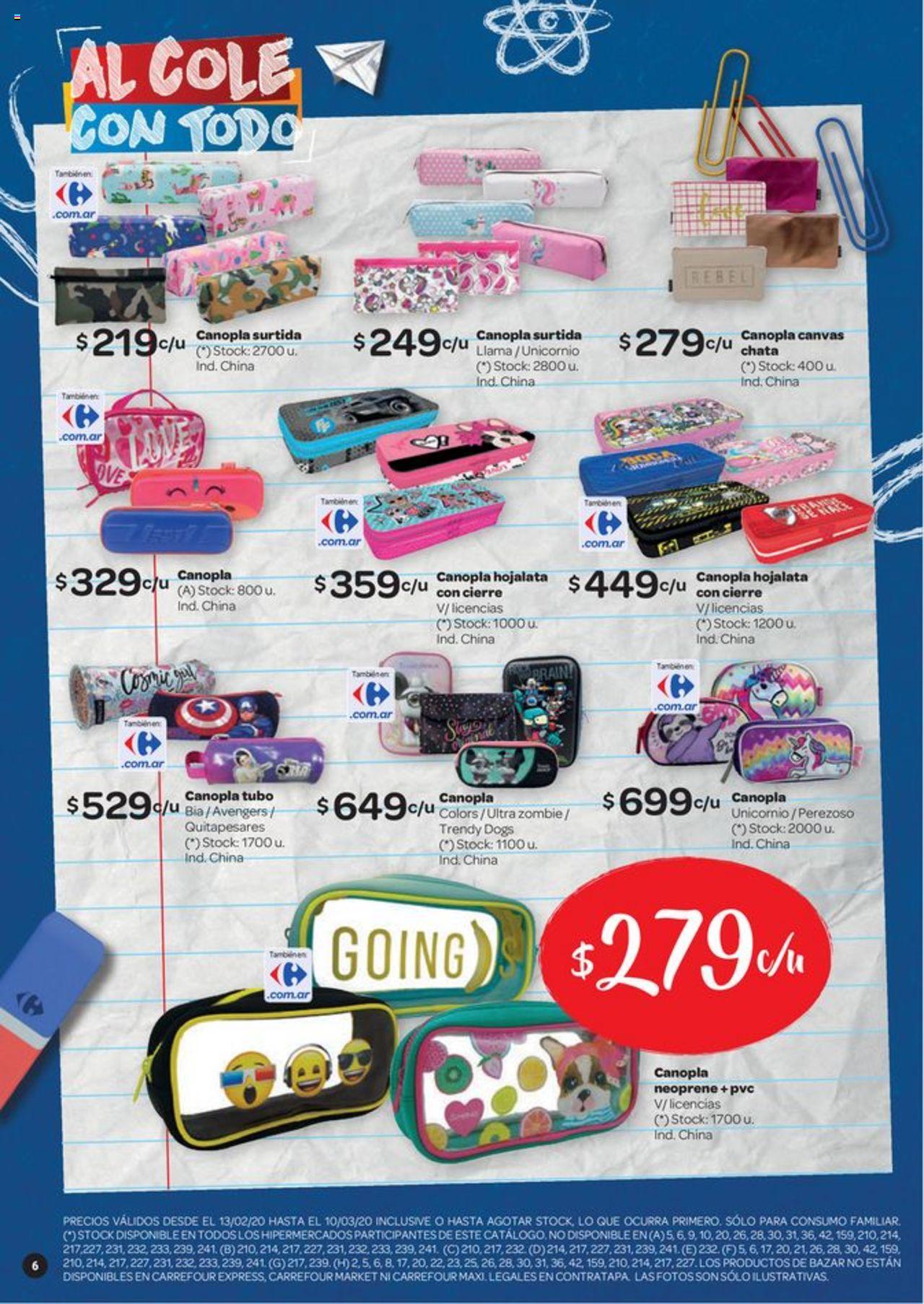 Carrefour Oferta válido desde el 13/02/2020 número de página 1 | Página: 6