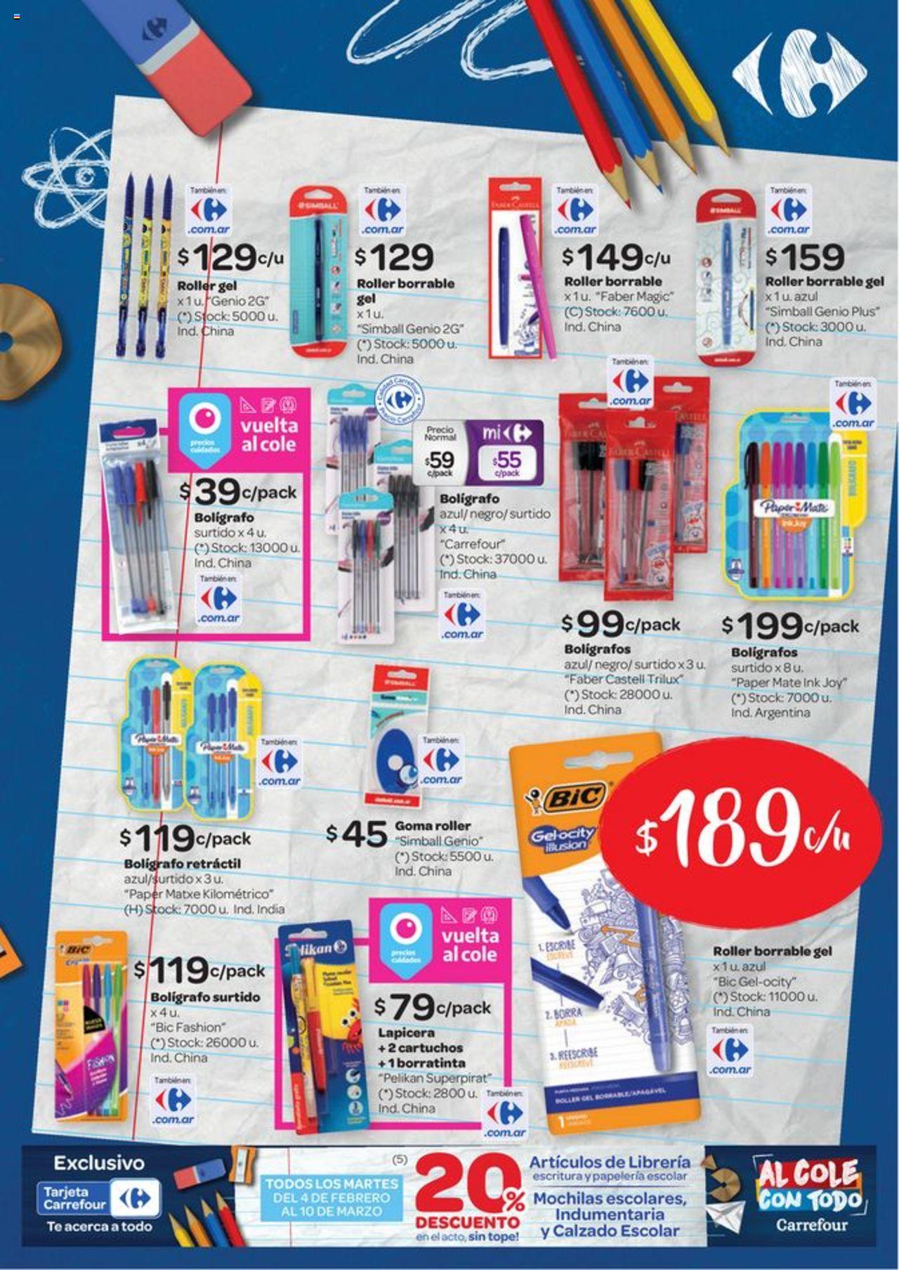Carrefour Oferta válido desde el 13/02/2020 número de página 1 | Página: 9