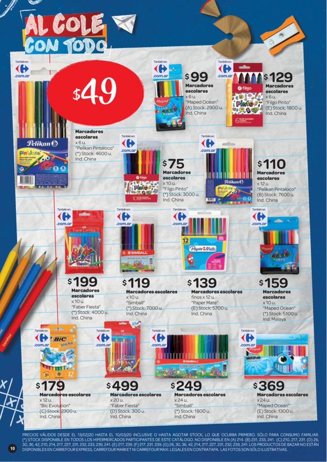 Carrefour Oferta válido desde el 13/02/2020 número de página 1 | Página: 10