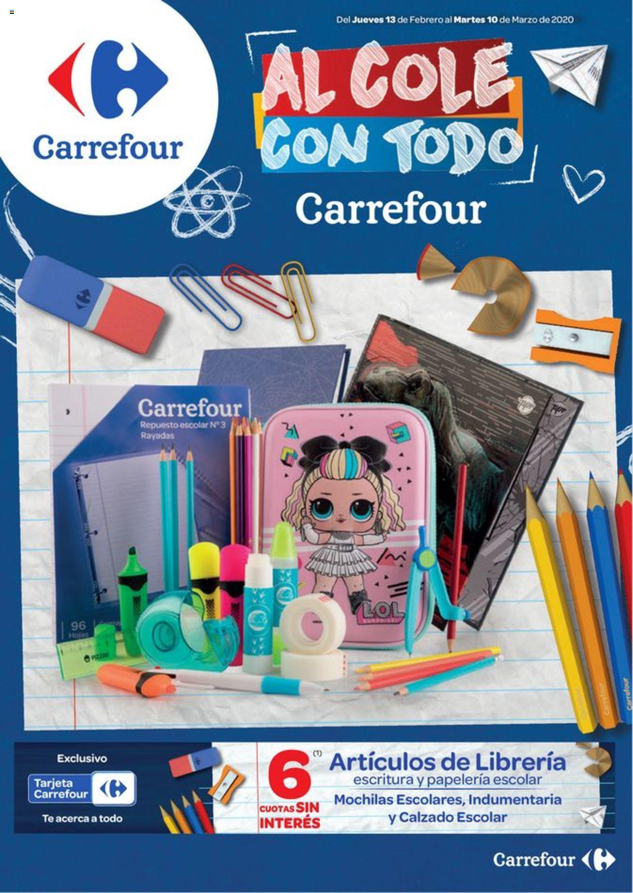 Carrefour Oferta válido desde el 13/02/2020 número de página 1 | Página: 1