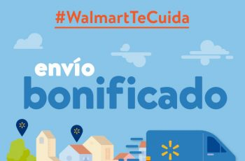 Envíos gratis con Walmart por el coronavirus