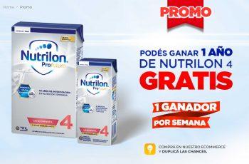Sorteo Nutrilon, podés ganar 1 año de leche gratis!